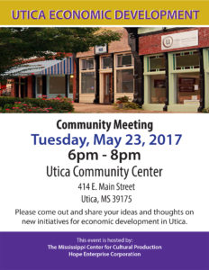 Utica Economic Development Flyer 2